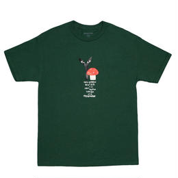 "Stingwater GREEN T-SHIRT ""GROE TOGETHER: RED CAP"""
