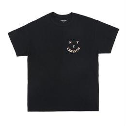 CHRYSTIE NYC CHRYSTIE.FACE LOGO T-SHIRTS / BLACK