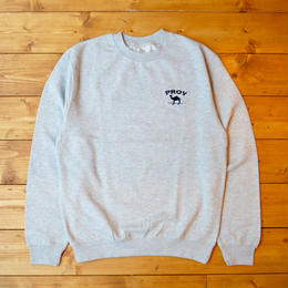 PROV OLD JOE CREWNECK SWEATSHIRT - HEATHER GREY