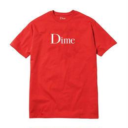 DIME CLASSIC LOGO T-SHIRT Red