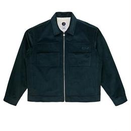 POLAR SKATE CO. CORD JACKET Dark teal