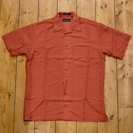 Solid Resort Shirt Red