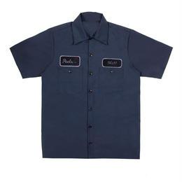 Peels NYC Rose Shirt Navy