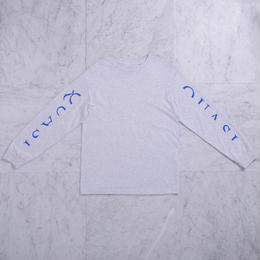 QUASI SKATEBOARDS Mono L/S T-shirts  - Ash
