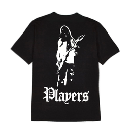 LIFE'S A BEACH LAB Players 2 Tee Black