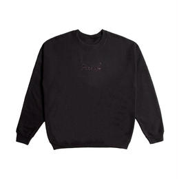 Peels NYC Peels Rose Logo Crewneck Sweater With Embroidery