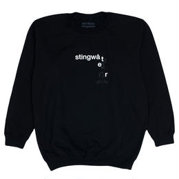 "Stingwater ""EMPTY YOUR MIND"" BLACK CREWNECK SWEATER"