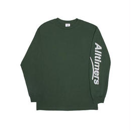 ALLTIMERS ESTATE PUFFY LONGSLEEVE TEE FOREST GREEN