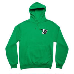 CALL ME 917 Meet Meat Pullover Hood Green