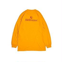 Hellrazor Trademark Logo Shirt L/S Shirt - Orange