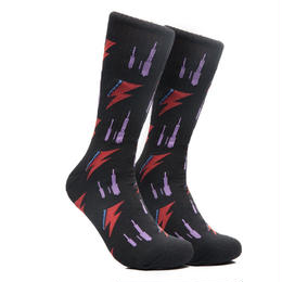 CHRYSTIE NYC RIP SOCKS / BLACK