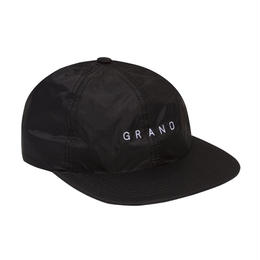 GRAND COLLECTION NYLON RIPSTOP CAP BLACK