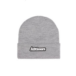 ALLTIMERS BROADWAY RUBBER BEANIE HEATHER GREY