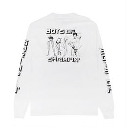 Boys Of Summer Shrimpin L/S T-Shirt White