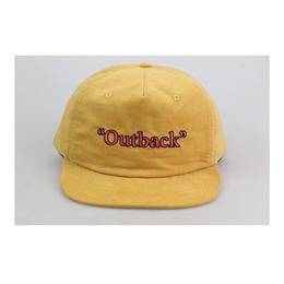 COME SUNDOWN 'OUTBACK' CAP YELLOW