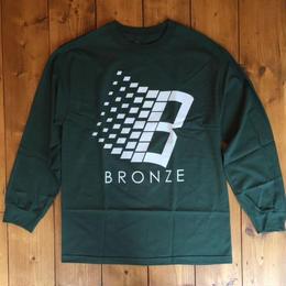 BRONZE 56K B logo Mis print t-shirts