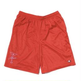 ALLTIMERS BALL FOREVER SHORTS RED