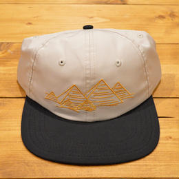 Theories Nylon Snap Back Tan/Black