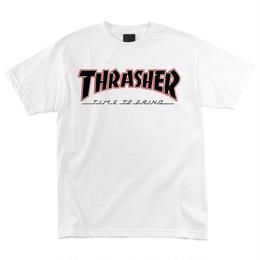 Thrasher TTG Regular S/S Independent Mens T-Shirt White