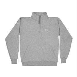 GRAND COLLECTION  Quarter Zip Heather Grey
