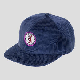 "PASS~PORT ""D.A.Y.W"" CORD CAP NAVY"