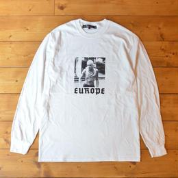 EUROPE CO. Urban warfare longsleeve - White
