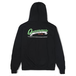 QUARTER SNACKS GROCERY CHAMPION HOODIE BLACK