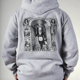 Theories Initiation Pullover Hoody Heather Grey