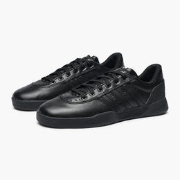 ADIDAS SKATEBOARDING CITY CUP BLACK LEATHER