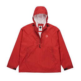 POLAR SKATE CO. RIPSTOP ANORAK JACKET Red