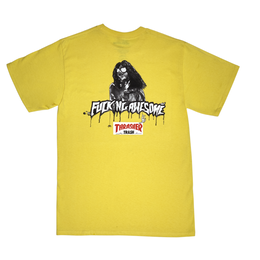FUCKING AWESOME x THRASHER Trash Me Tee Yellow