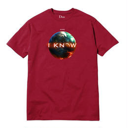 DIME I KNOW T-SHIRT Red