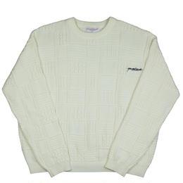 YARDSALE Knitwear Cream