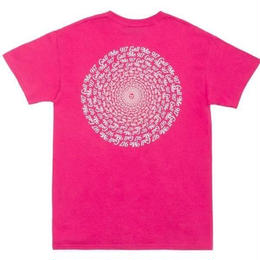 CALL ME 917 Hypnotic Tee Pink