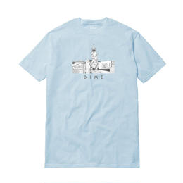 DIME JOE VALDEZ CHINA BANKS T-SHIRT LIGHT BLUE