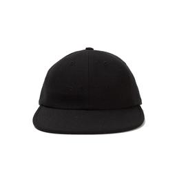 POP FLEXFOAM 6 PANEL HAT BLACK WOOL