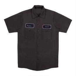Peels NYC Peels Black Rose Logo Shirt