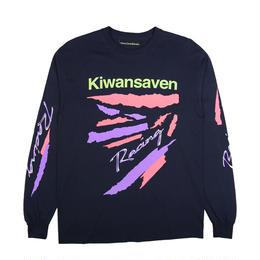 CALL ME 917 Kiwanseven L/S T-Shirt Navy
