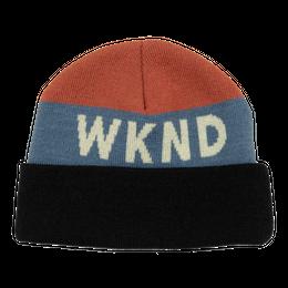 WKND Collision Watchcap Beanie- Black Cuff