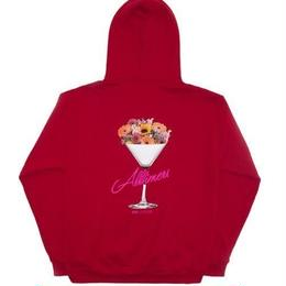 ALLTIMERS BOUQUET HOODY RED