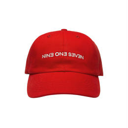 CALL ME 917  Backwards Hat Red