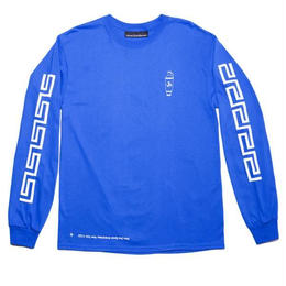 CALL ME 917 Coffee Long Sleeve T-Shirt Blue
