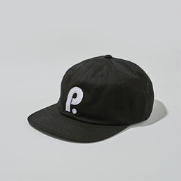 PATERSON. OG P Logo 6 Panel Cap - Black