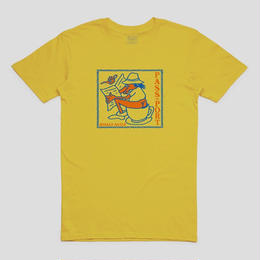 "PASS~PORT ""MORNING RITUALS"" TEE YELLOW"