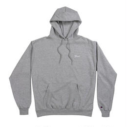 GRAND COLLECTION SCRIPT HOODIE GREY