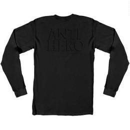 ANTI HERO DROPHERO POCKET PREMIUM LONGSLEEVE T-SHIRT BLACK