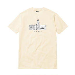 DIME JOE VALDEZ CHINA BANKS T-SHIRT CREAM