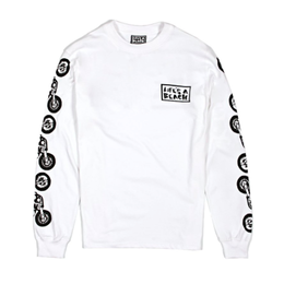 LIFE'S A BEACH LAB Dirt Bikes Long Sleeve White