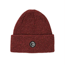 POLAR SKATE CO. HARBOUR BEANIE - DARK RED