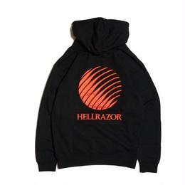 Hellrazor Embroidered Logo Hoodie - Black